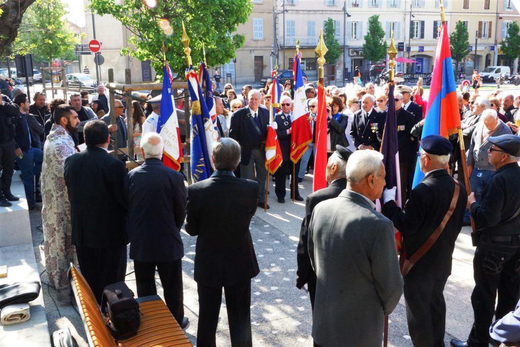 Commémoration du Génocide des Arméniens par l'Empire Ottoman.Photo Jean-Pierre Bonnet-simorgh@wanadoo.fr- droits réservés. (4)