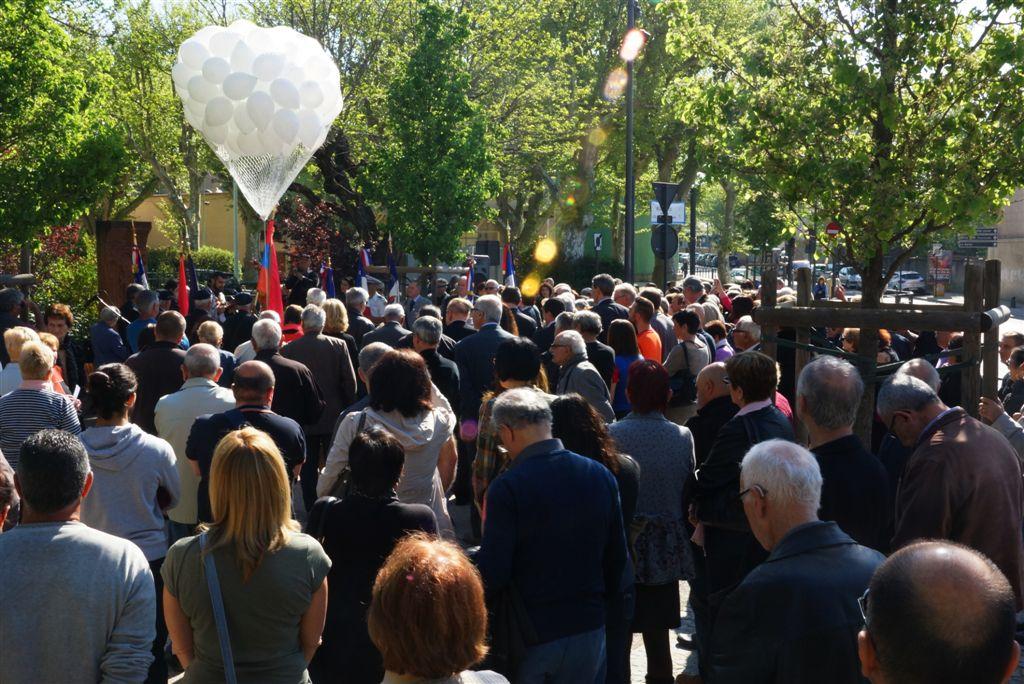 Commémoration du Génocide des Arméniens par l'Empire Ottoman.Photo Jean-Pierre Bonnet-simorgh@wanadoo.fr- droits réservés. (5)