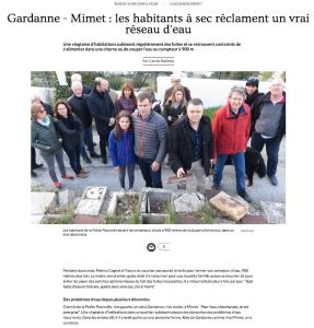 Article La Provence La petite Pourcelle